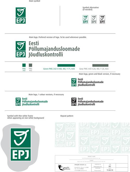 EPJ summary logo usage guide