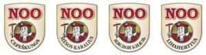 NÕO logos Latvia Lithuania Russia Finland