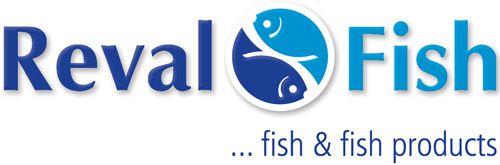 Reval Fish logo design