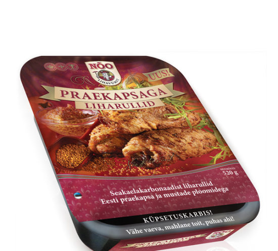 LIHAVURST brand oven cook pack design