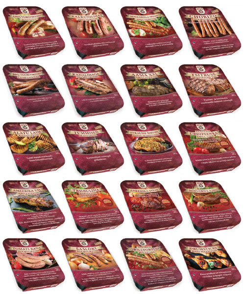 LIHAVURST grill trays brand pack selection