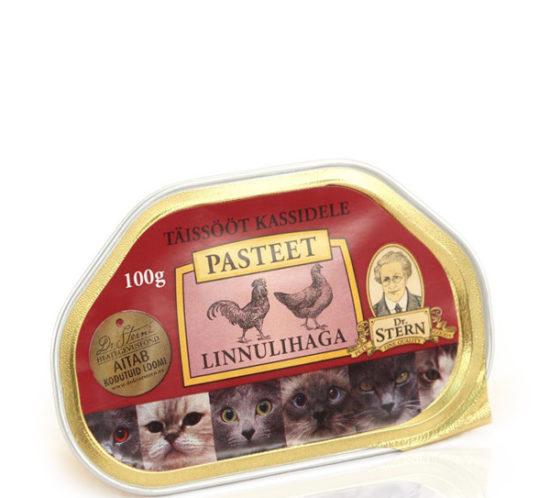 Dr STERN brand pate cat food pack design