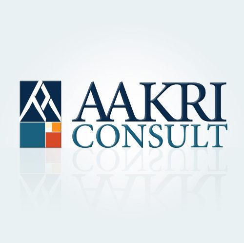 AAKRI CONSULT logo design