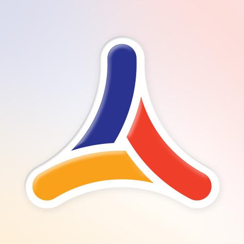Atemix logo design symbol