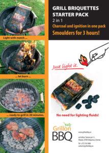 Cassette Briquette pack usage guide