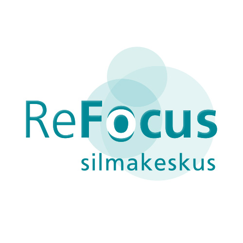 ReFocus logo design on white
