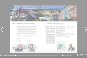 Tartu Smart Location sample page spread
