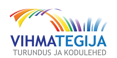 VIHMATEGIA logo design on white
