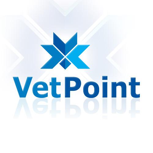 VetPoint logo design