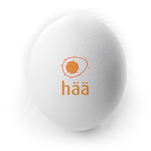 häänumna brandmark symbol design on egg