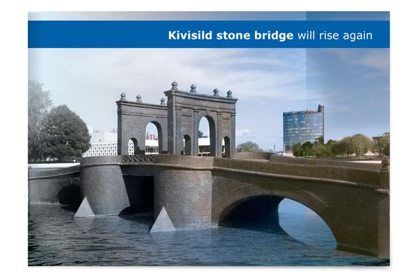 Tartu Kivisild brochure cover design crop