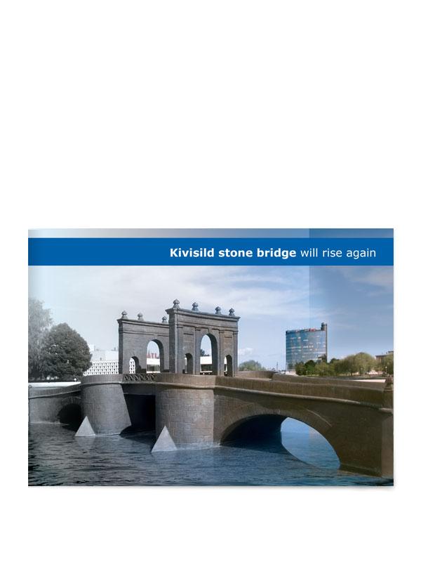 Tartu Kivisild brochure cover design