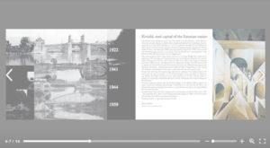 Tartu Kivisild brochure design sample page