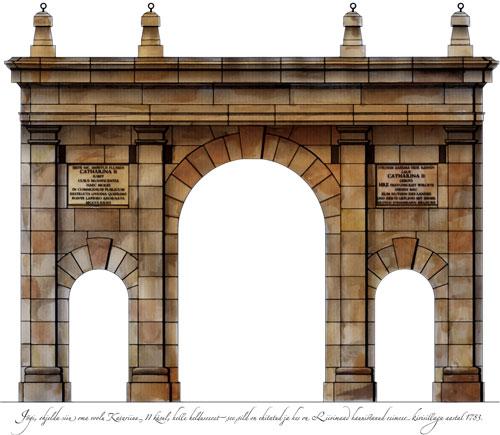 Tartu Kivisild triumphal arch